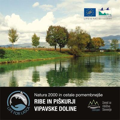 Natura 2000 in ostale pomembnejše ribe in piškurji Vipavske doline